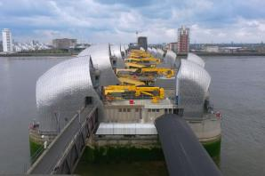 Thames Barrier to be closed for first time this winter to prevent flooding in London