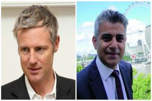 "Sadiq Khan claims Zac Goldsmith would ""hike travel costs by more £1,000"" if elected Mayor of London"