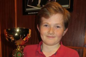 SNOOKER: Youngster claims first ever winner's trophy on the Cuestar tour