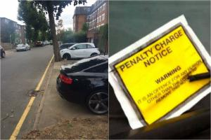 Kingston Guardian: Verging on the ridiculous: Bemused car owners fined £110 a day for parking on their own driveways